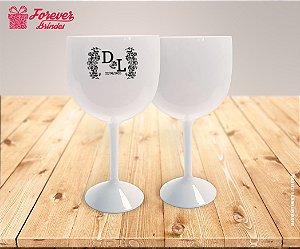 Taça De Gin Personalizada De Casamento