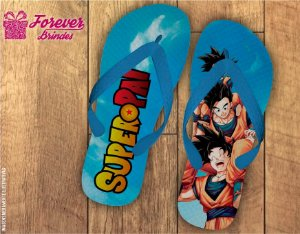Chinelo Personalizado  Super Pai Goku
