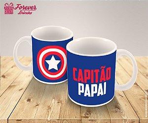 Caneca De Porcelana Capitão Papai
