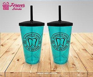 Copo Twister  Personalizado Dia Mundial do Dentista
