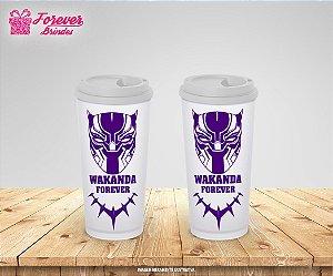 Copo Café Wakanda Forever