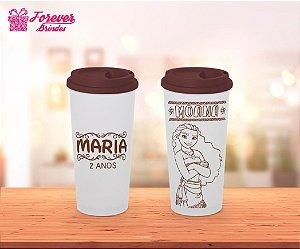 Copo Café Princesa Moana