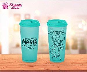 Copo Café Princesa Tiana