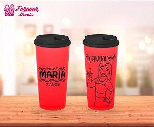Copo Café Princesa Mulan