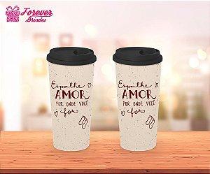 Copo Café Espalhe Amor