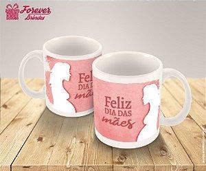 Caneca Porcelana Dia Das Mães