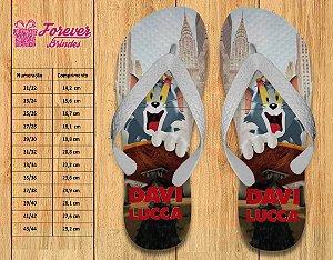 Chinelo Tom e Jerry