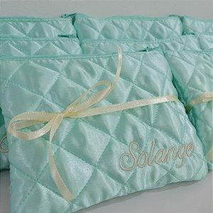 Necessaire Amor  Verde Tiffany