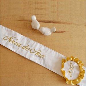 Faixa Noiva(o) do Ano Branca