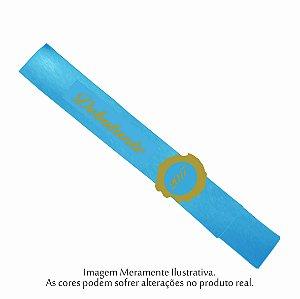 Faixa Debutante do Ano Azul Turqueza