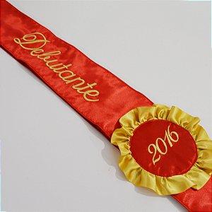 Faixa Debutante do Ano Vermelha