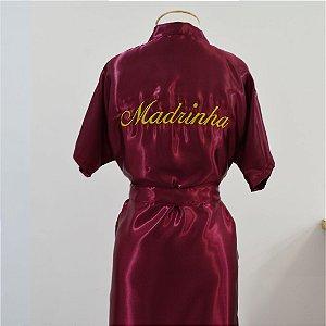 Robe Básico Marsala