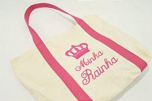 Bolsa Minha Rainha Rosa