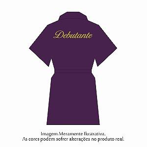 Robe Debutante Roxo