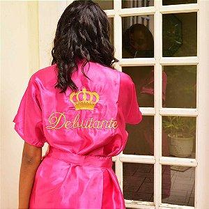 Robe Debutante Rosa Pink