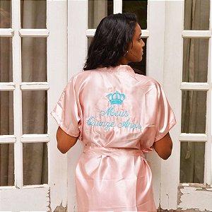 Robe Debutante Rosa Claro