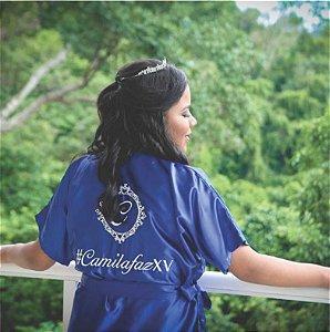Robe Debutante Azul Royal