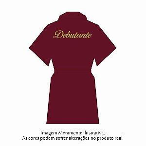 Robe Debutante Marsala