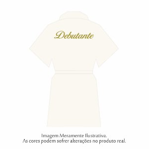 Robe Debutante Off-White