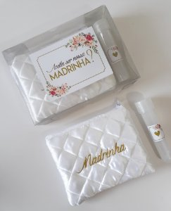 Kit Convite Madrinha