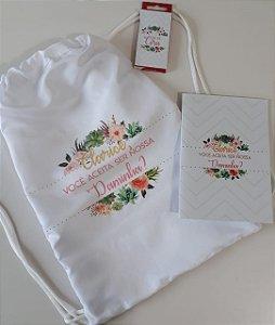 Kit Convite Daminha