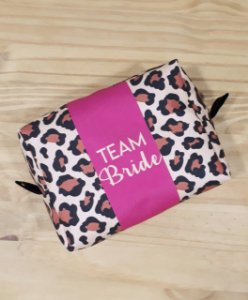 Necessaire Box Personalizada Madrinha Oncinha