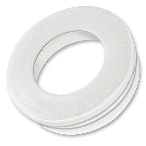 Anel de vedação  para vaso Sanitário SANIFIX com Guia