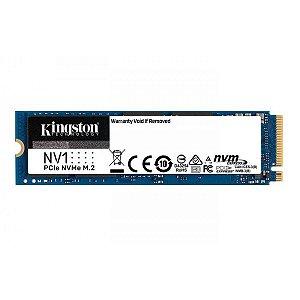 SSD 500GB Kingston Nv1 NVMe M.2 2280 - SNVS/500G