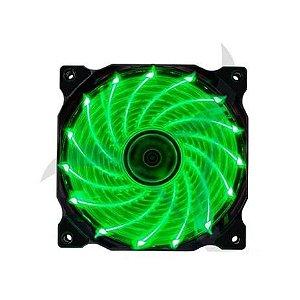 Cooler Gamer Verde Porlar 120mm