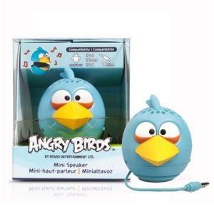 CAIXA DE SOM ANGRY BIRDS BATERIA/USB PLUG P2 2,5WRMS BLUE BIRD