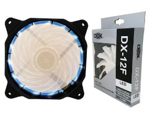 Cooler Gamer Fan 120MM Com Led Branco DX-12F
