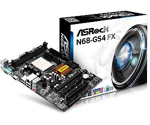 Placa Mãe AMD Asrock N68-GS4 FX DDR3