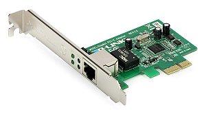 Placa de Rede PCIe  10/100/1000Mbps