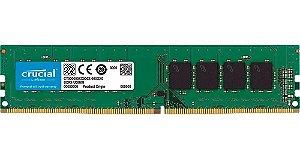 Memória Crucial 4GB DDR4 2666Mhz
