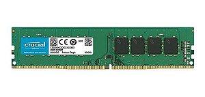 Memória Crucial 8GB DDR4 2666Mhz