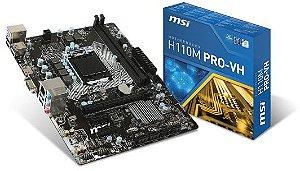 Motherboard MSI H110M PRO-VH DDR4 LGA 1151