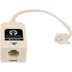 Filtro Modem ADSL F2T1 Bege