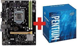 Kit Upgrade Processador  Pentium G4560 3.50 Ghz + Motherboard Biostar H110MHV3 DDR3