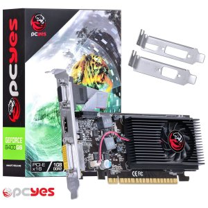Placa de Vídeo Geforce PCyes 8400GS 1GB