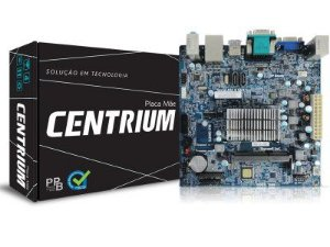 PLACA MAE COM PROCESSADOR INTEL CENTRIUM J3060 DUAL CORE 1.6GHZ HDMI M-ITX PPB BOX