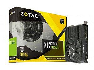 Placa de Vídeo VGA NVIDIA Zotac GeForce GTX 1050TI 4GB ZT-P10510A-10L