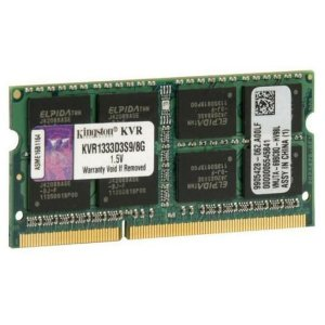 MEMÓRIA 8GB DDR3 1333 KINGSTON NOTEBOOK