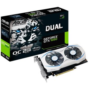 PLACA DE VÍDEO ASUS GEFORCE GTX 1050 2GB GDDR5 DUAL FAN