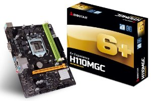 Placa Mãe Biostar H110MGC 1151P DDR4