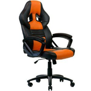 Cadeira Gamer DT3 GTS Orange Com Altura Ajustavel