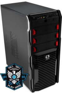 Computador Moba Six Core FX-6300 3.5Ghz + 4GB DDR3 + HD 1TB + Nvidia GT 1030 2GB