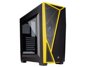 GABINETE GAMER CORSAIR CARBIDE SERIES SPEC-04 PRETO/AMARELO CC-9011108-WW