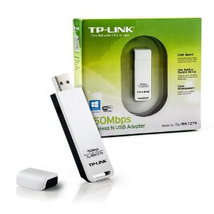 Adaptador USB Wireless TP-link 150Mbps TL-WN727N