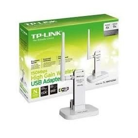 Adaptador Wireless TP-Link USB 150Mbps TL-WN722NC