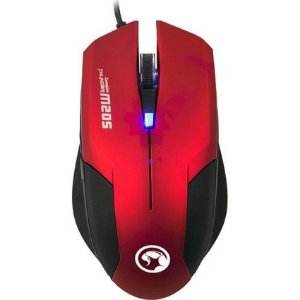 Mouse Gamer Sensor de Alta Performance Marvo Scorpion M205 RD 800/1600 DPI RED